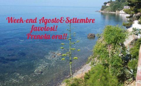 Agosto&Settembre IN WEEK-END da FAVOLA!