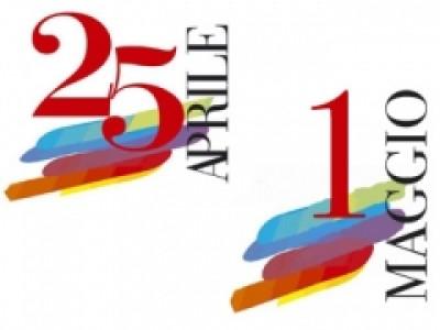 25 APRILE & 1° Maggio AL MARE!!!